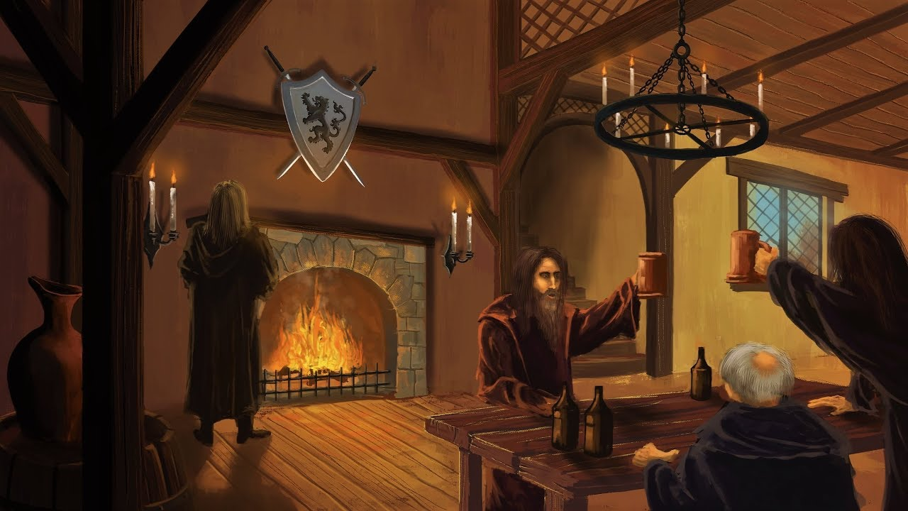 Medieval Fantasy Music - Night at the Medieval Inn