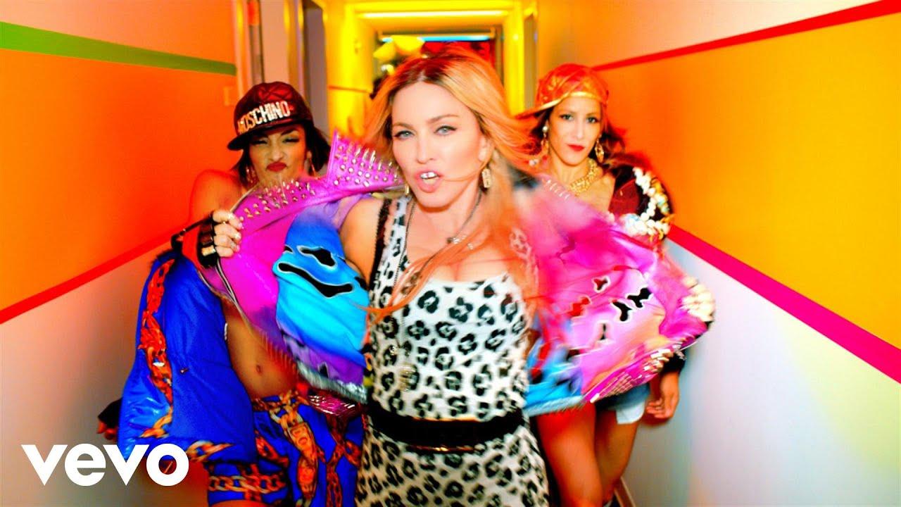 Bitch I'm Madonna - Madonna featuring Nikki Minaj
