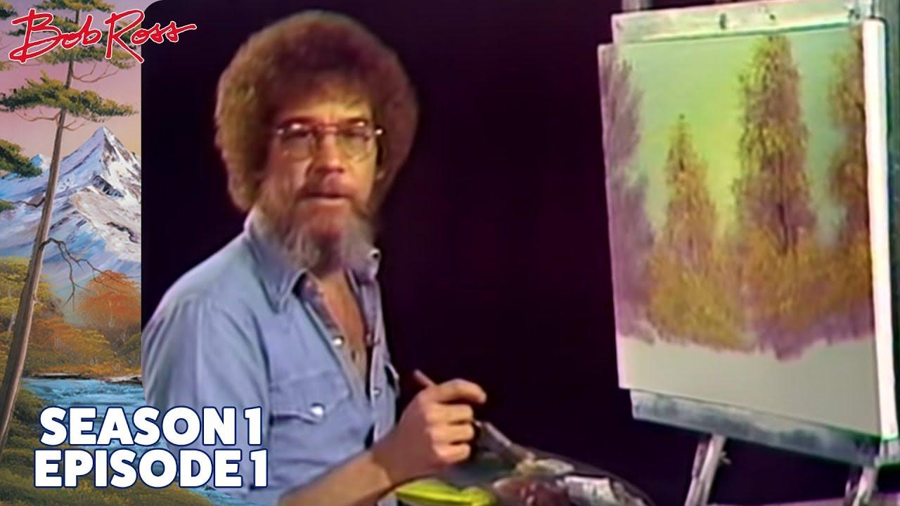 Joy of Painting - Bob Ross (Season 1 Episode 1)